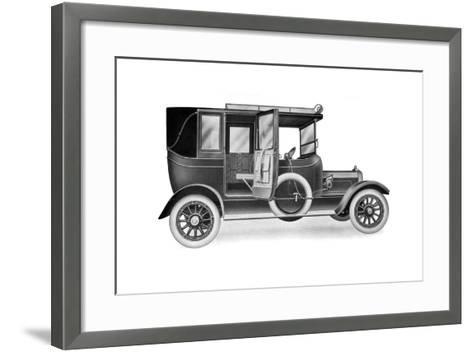 A 25 HP Talbot Limousine Landaulette, 1912--Framed Art Print