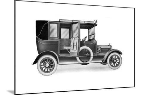 A 25 HP Talbot Limousine Landaulette, 1912--Mounted Giclee Print