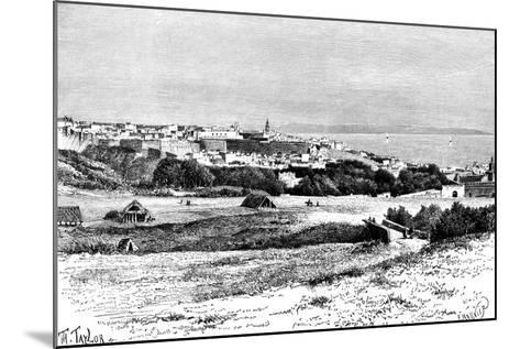 Tangier, Morocco, 1895-Taylor-Mounted Giclee Print