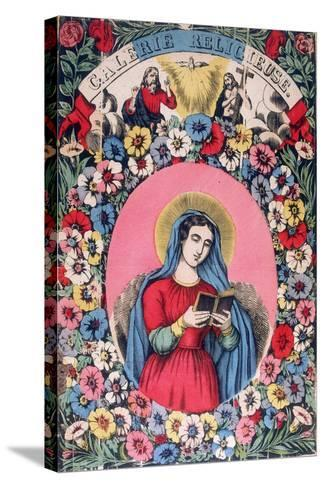St Bridget, 19th Century--Stretched Canvas Print