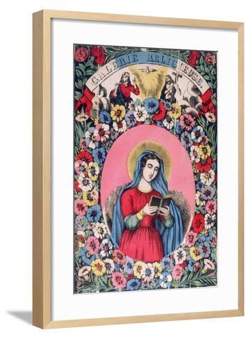 St Bridget, 19th Century--Framed Art Print
