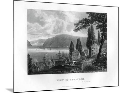 View of Newburgh, New York State, 1855--Mounted Giclee Print