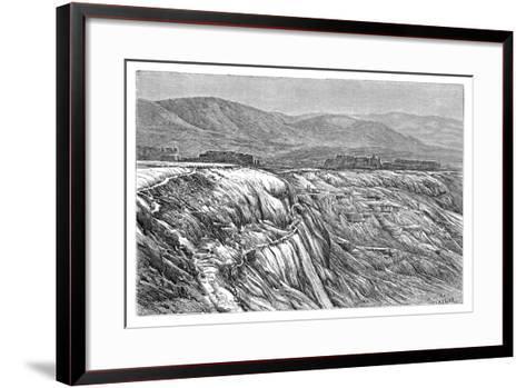 The Falls of Pambuk-Kaleh (Or Tambu), 1895--Framed Art Print