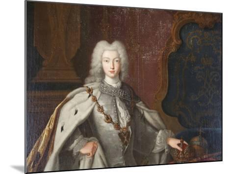 Portrait of Peter II, C1728--Mounted Giclee Print
