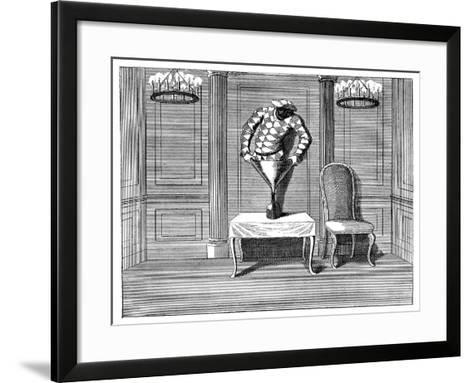 An Apology to the Town, 1749--Framed Art Print
