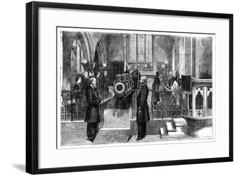The Funeral of Benjamin Disraeli (1804-188), British Prime Minister, Late 19th Century--Framed Art Print