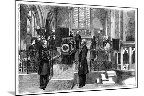 The Funeral of Benjamin Disraeli (1804-188), British Prime Minister, Late 19th Century--Mounted Giclee Print
