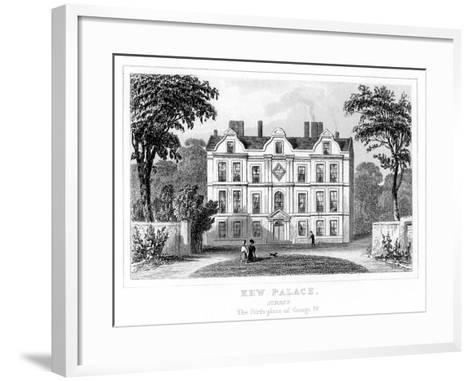 Kew Palace, Richmond Upon Thames, London--Framed Art Print