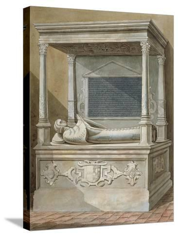 Monument to Sibel Penn on the North Side of the Chancel at St Mary, Hampton, Middlesex, C1810--Stretched Canvas Print