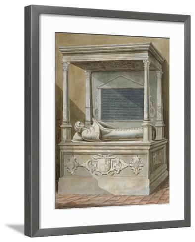 Monument to Sibel Penn on the North Side of the Chancel at St Mary, Hampton, Middlesex, C1810--Framed Art Print