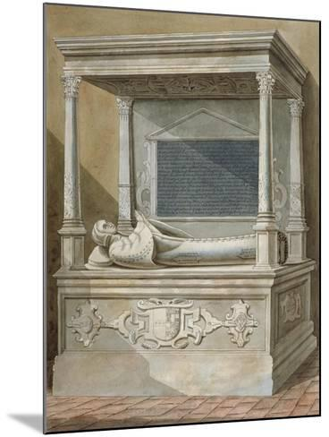 Monument to Sibel Penn on the North Side of the Chancel at St Mary, Hampton, Middlesex, C1810--Mounted Giclee Print