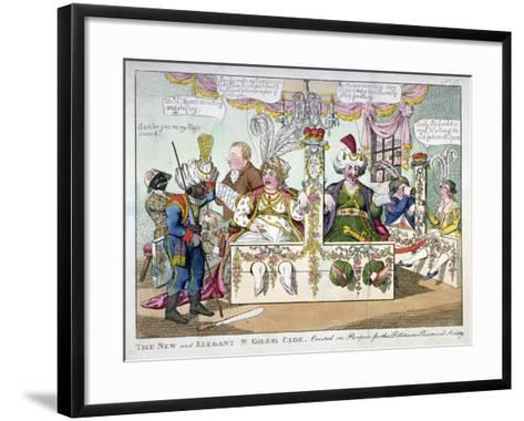 The New and Elegant St Giles's Cage..., 1802-Williams-Framed Art Print