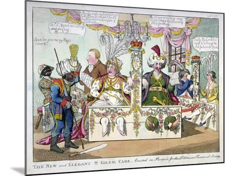 The New and Elegant St Giles's Cage..., 1802-Williams-Mounted Giclee Print