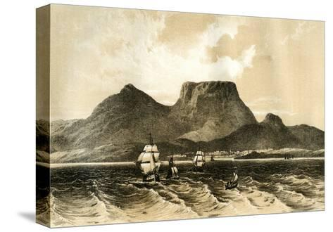 Table Mountain, Cape of Good Hope, South Africa, 1883--Stretched Canvas Print