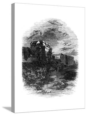 Carlisle Castle, Carlisle, Cumbria, 19th Century- Bale & Hulman-Stretched Canvas Print