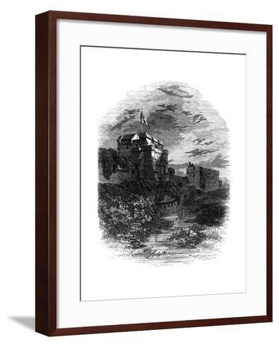 Carlisle Castle, Carlisle, Cumbria, 19th Century- Bale & Hulman-Framed Art Print