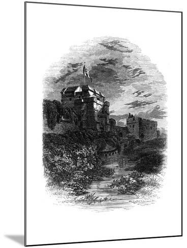 Carlisle Castle, Carlisle, Cumbria, 19th Century- Bale & Hulman-Mounted Giclee Print
