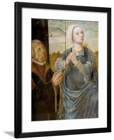 Christ's Passion, Detail from the Altarpiece of St Antony, 16th Century--Framed Art Print