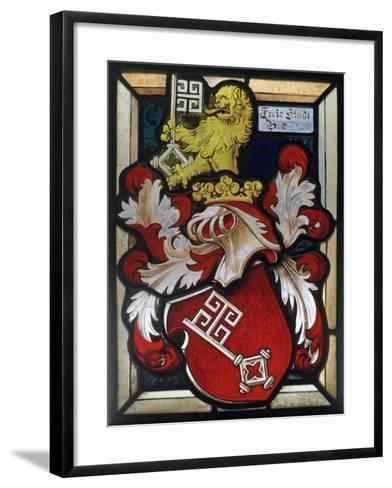 Coat of Arms, 16th Century--Framed Art Print