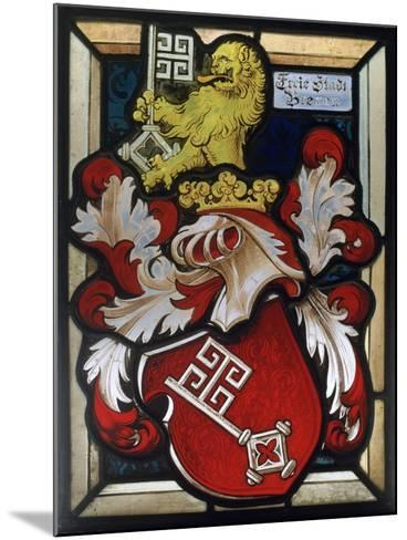 Coat of Arms, 16th Century--Mounted Giclee Print