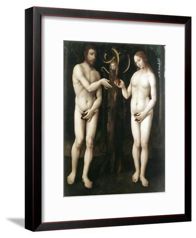 Adam and Eve' ('The Temptation of Adam), C1520--Framed Art Print
