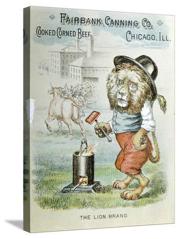 Trade Card for the Fairbank Canning Company, Chicago, Illinois, C1890--Stretched Canvas Print