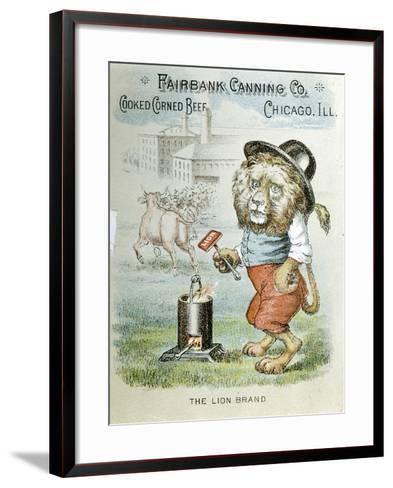 Trade Card for the Fairbank Canning Company, Chicago, Illinois, C1890--Framed Art Print