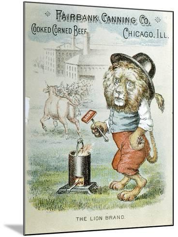Trade Card for the Fairbank Canning Company, Chicago, Illinois, C1890--Mounted Giclee Print