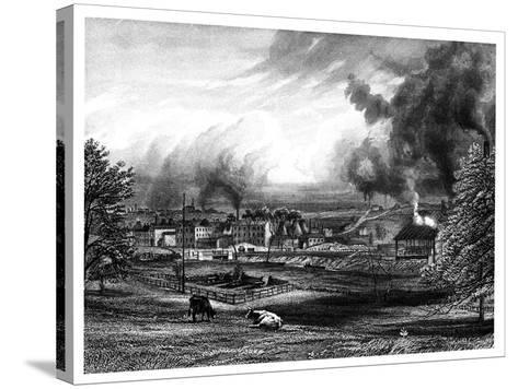 Wedgwood Factory, Etruria, Hanley, Staffordshire, England--Stretched Canvas Print