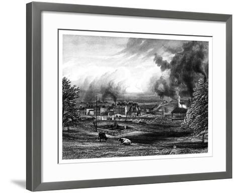 Wedgwood Factory, Etruria, Hanley, Staffordshire, England--Framed Art Print