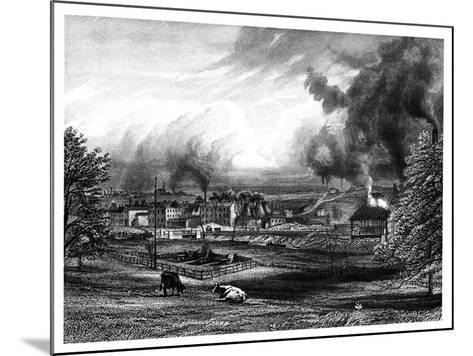 Wedgwood Factory, Etruria, Hanley, Staffordshire, England--Mounted Giclee Print
