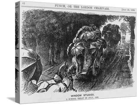 Window Studies, 1888--Stretched Canvas Print