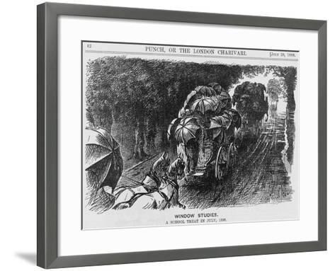 Window Studies, 1888--Framed Art Print