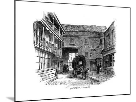 The Queen's Head Inn, Southwark, London, 1887--Mounted Giclee Print