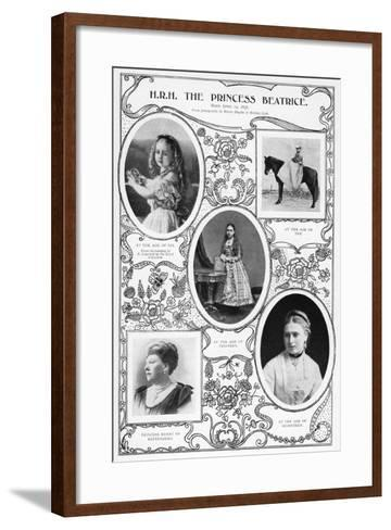 The Princess Beatrice, Youngest Child of Queen Victoria, 1901- Hughes & Mullins-Framed Art Print