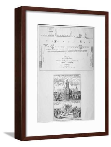 Cheapside, City of London, 1809--Framed Art Print