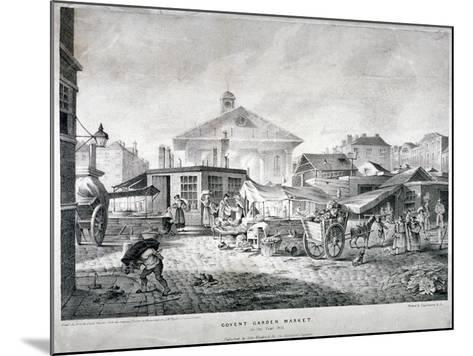 Covent Garden Market, Westminster, London, 1815--Mounted Giclee Print