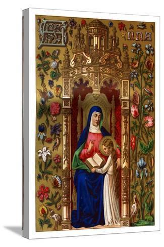 St Anne, 1886--Stretched Canvas Print