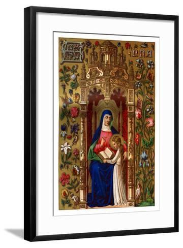 St Anne, 1886--Framed Art Print