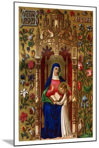 St Anne, 1886--Mounted Giclee Print