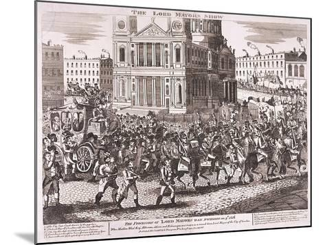 Lord Mayor's Show, 1816--Mounted Giclee Print