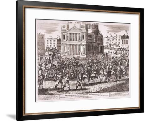 Lord Mayor's Show, 1816--Framed Art Print