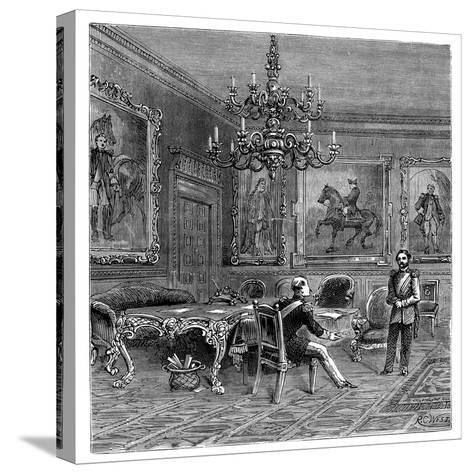 The Council Chamber, St James's Palace, 1900--Stretched Canvas Print