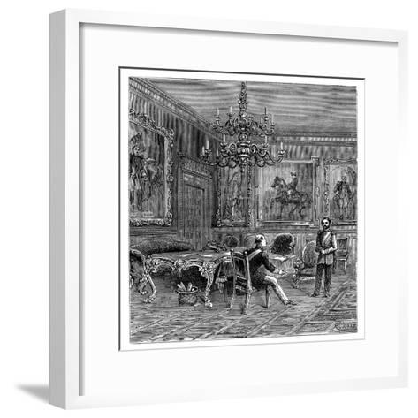 The Council Chamber, St James's Palace, 1900--Framed Art Print