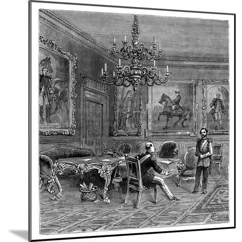 The Council Chamber, St James's Palace, 1900--Mounted Giclee Print