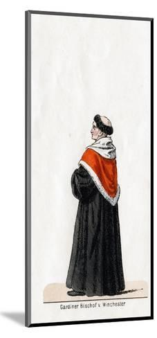 Stephen Gardiner, Costume Design for Shakespeare's Play, Henry VIII, 19th Century--Mounted Giclee Print