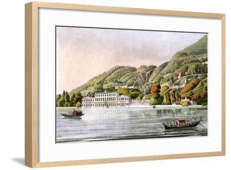 The Villa D'Este, Tivoli, Italy, Late 19th Century--Framed Art Print