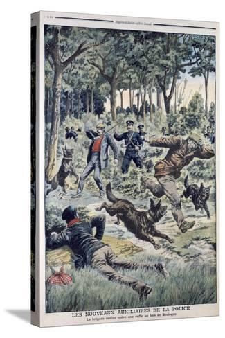 The New French Police Auxiliaries, 1907--Stretched Canvas Print