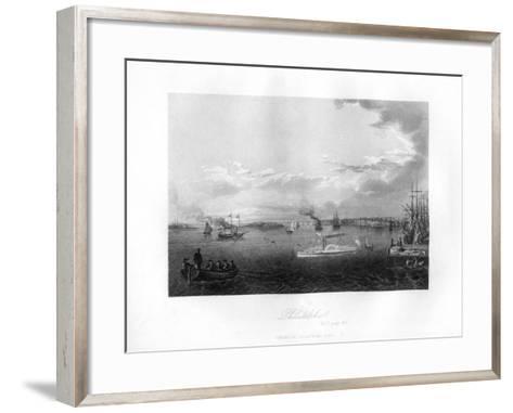 Philadelphia, 1855--Framed Art Print