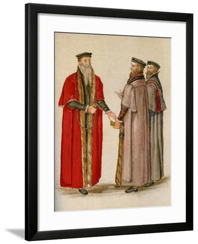 Lord Mayor and Aldermen--Framed Art Print